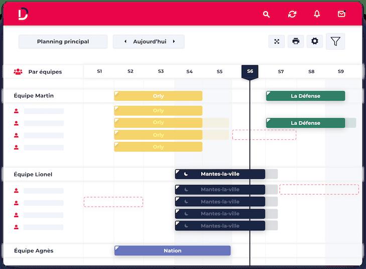 logiciel planning de ressources Dispatcher